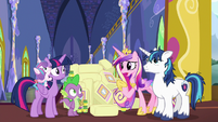 """Princess Cadance """"are you sure you can watch her?"""" S7E3"""