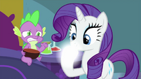 Rarity's hoof magically transforms MLPS2
