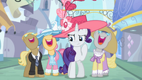 Rarity sec thought fake story S2E9