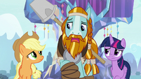 """Rockhoof """"I heard there's a statue spell"""" S8E21"""