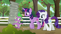 Spike --what are you gonna get--- S6E10