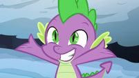 Spike introduces himself to Thorax S6E16