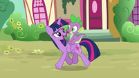 Twilight Sparkle --maybe the rest of us not going-- S6E22