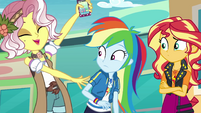 "Vignette to Rainbow Dash ""but better!"" EGROF"