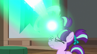 Young Starlight Glimmer casting magic again S7E24