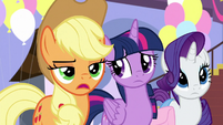 """Applejack """"get to the point"""" S9E24"""