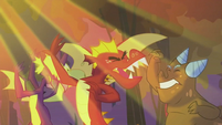 Dragons getting shined S2E21