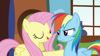 """Fluttershy """"when the spring sun warms the ground back up"""" S5E5"""