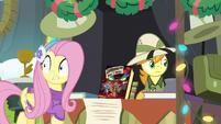 Fluttershy sees a stampede of ponies MLPBGE