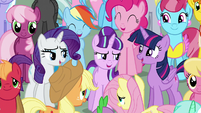 Main cast and Starlight --Friends can change the world-- S5E26
