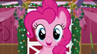Pinkie Pie appears to greet her friends BGES2