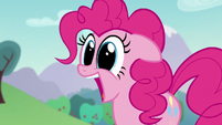 Pinkie says Countess Coloratura's name out loud in excitement S5E24