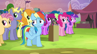 """Rainbow """"no thing that's worth as much to me"""" S4E22"""