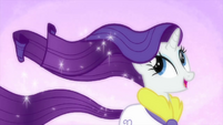Rarity with a moving mane MLPS1