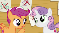 "Scootaloo ""Sweetie Belle and I can do the things we like"" S6E4"