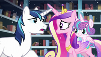 """Shining """"But between you and Twilight"""" S6E2"""