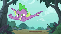 Spike flying to the rescue S8E11
