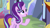 "Starlight ""nice to run the school together"" S9E20"