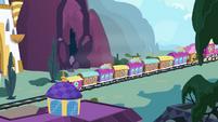Train heading to Ponyville S4E01
