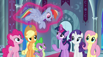 """Twilight """"step into their horseshoes"""" S9E1"""