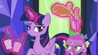 """Twilight """"you were under a spell"""" S5E22"""
