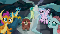 Young Six listening to the Tree of Harmony S8E22