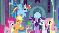 """Applejack """"we're not a bad choice"""" S9E1"""