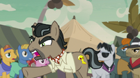 """Dr. Caballeron """"write you out of the story for good!"""" S7E18"""