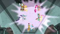 Five pairs of element bearers and Pillars focusing power S7E26