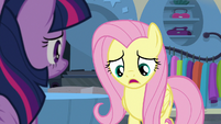 """Fluttershy """"acting like the ponies of Saddle Row"""" S8E4"""
