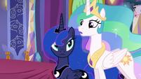 Princess Celestia --...has need of them in the Dragon Lands-- S6E5