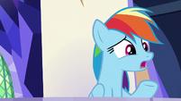 Rainbow Dash -Rockhoof's really strong- S8E21
