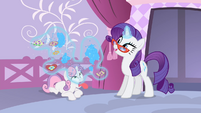 Rarity levitating sequins S4E19