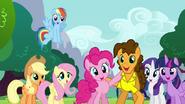 S04E12 Pinkie Pie i Cheese Sandwich śpiewają razem