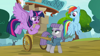 """Twilight """"why would Pinkie leave Ponyville?"""" S8E18"""