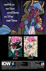 FIENDship is Magic issue 2 credits page