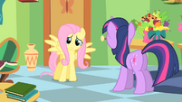 Fluttershy --somehow I become more popular-- S1E20