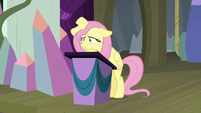 Fluttershy narrating dramatically S8E7