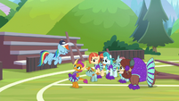 """Rainbow """"a good friend reminded me"""" S9E15"""