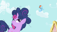 Rainbow Dash -I could do it in 10 seconds flat!- S1E1