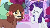 "Rarity ""the more confident you'll be"" S9E7"