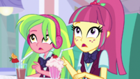 Sour Sweet surprised to see Rarity EGS1