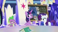 """Spike """"been practicing that speech"""" S9E4"""