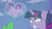 Starlight gives Twilight a sinister grin S5E25