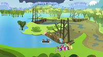 Sweet Apple Acres flooded S03E10