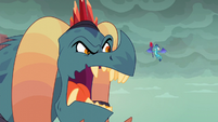 Torch enraged --I expressly told you-- S6E5