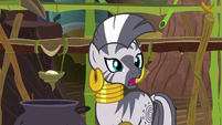 """Zecora """"make your hair stand on end"""" S7E19"""