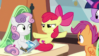 """Apple Bloom """"the Storm King invaded"""" S8E6"""