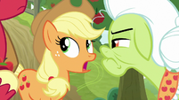"""Applejack """"well, somepony did it"""" S9E10"""