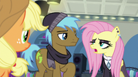 """Goth Fluttershy """"out of this aura of positivity"""" S8E4"""